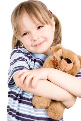Child-with-Teddy-Bear